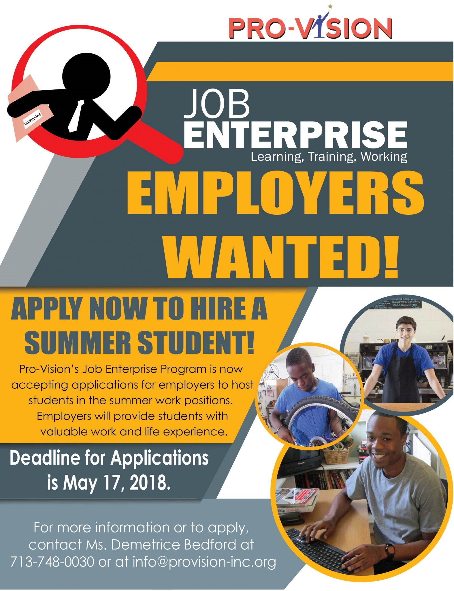 Job Enterprise Interest Flyer 2018