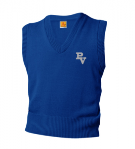Blue Sweater Vest (3rd-8th) $25.00