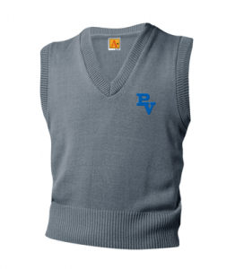 Grey Sweater Vest (9th-12th) $25.00